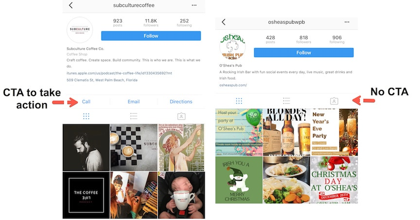 instagram optimization