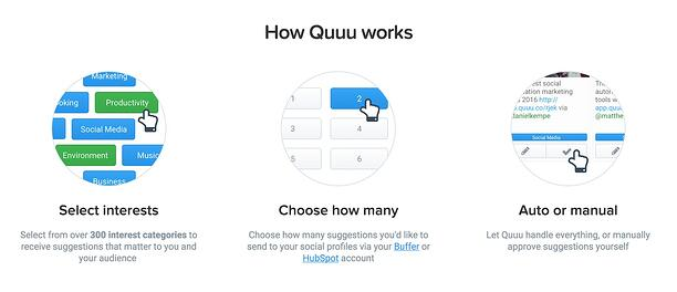 how quuu works