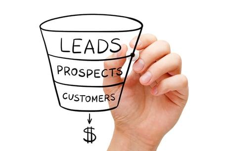sales funnel header